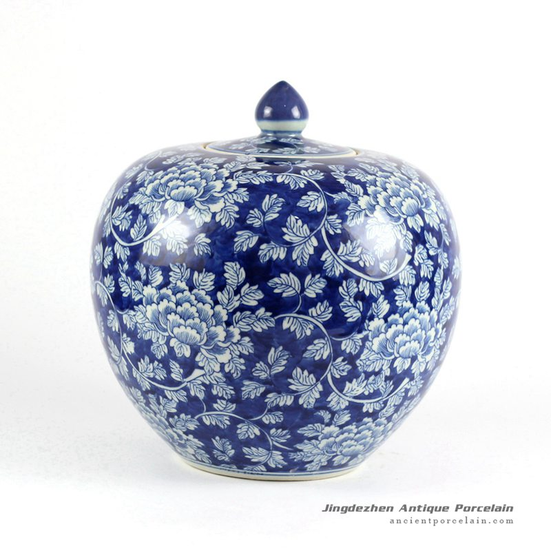 Rylu68 C Oriental Chinese Hand Painted Blue And White