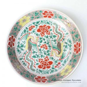 RYQQ46_17inch Hand painted Chinese Porcelain Charger