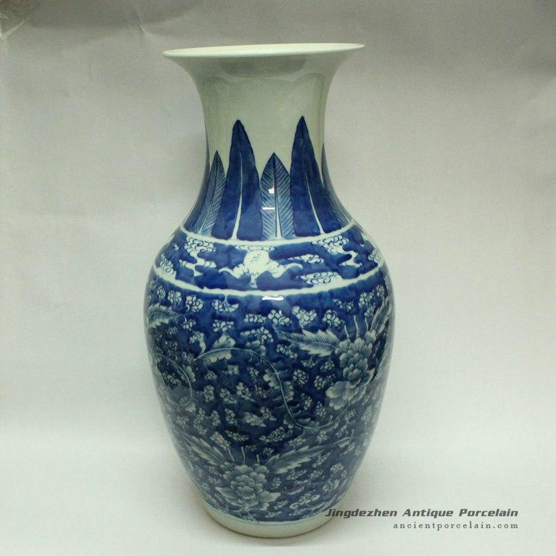 RYWD04_chinese jingdezhen ceramic vase decoration