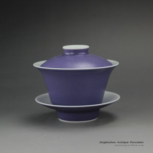 14CS113_purple glaze ceramic tea cups gaiwan