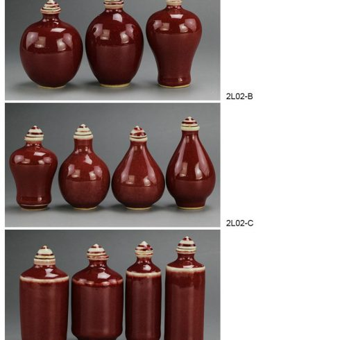 2L02-A-E_Ox blood small porcelain vase