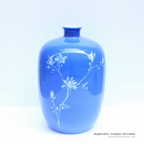 2u01_Jingdezhen Blue ware vases