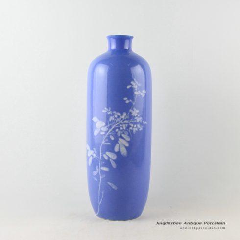 2u02-Jingdezhen Blue ware vases