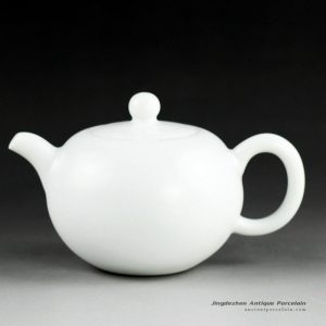 14FS15_plain porcelain tea pots