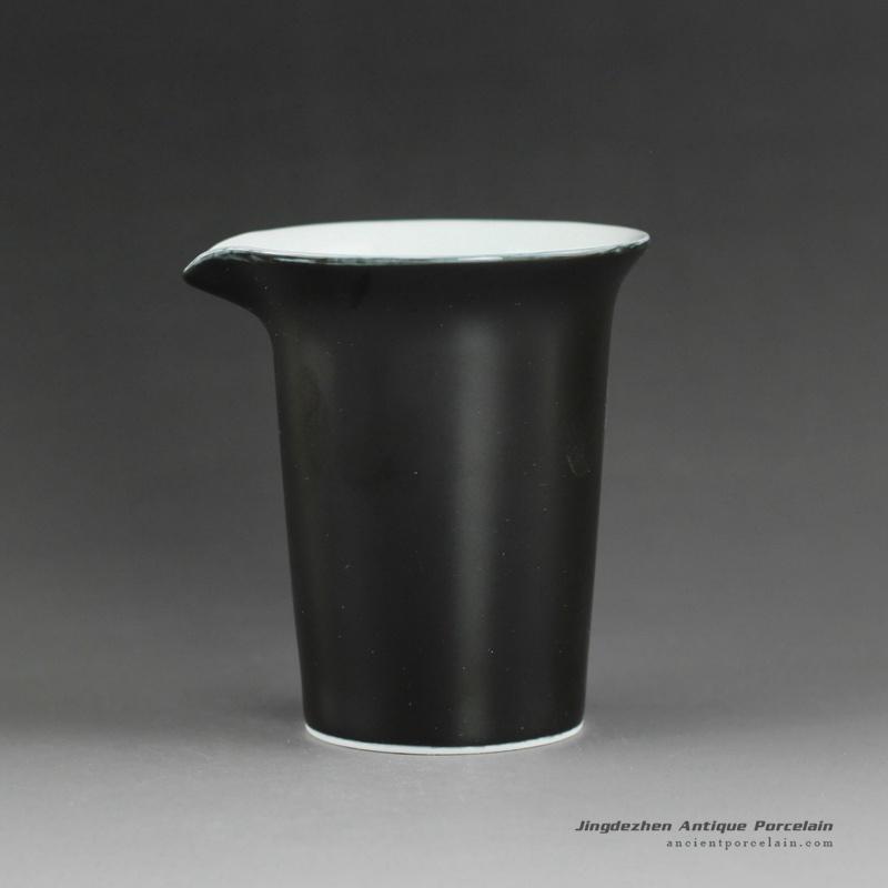 14QN24-B_Plain color porcelain tea fair cup
