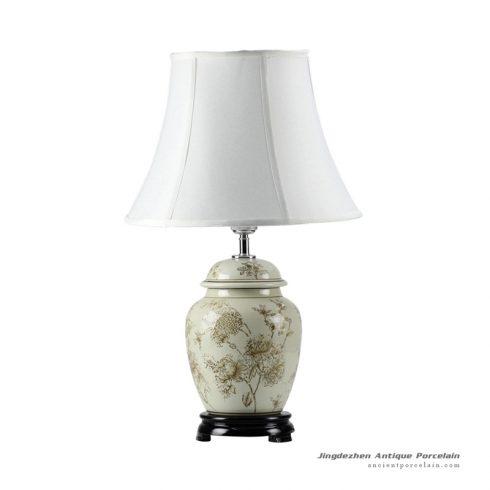 DS45-RYPU_Peony mark best seller porcelain ginger jar lamps