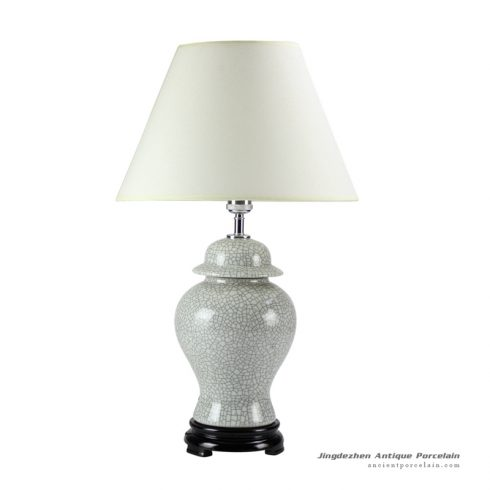 DS47-RYZR_Promotional Ge Kiln crackle glaze ceramic reading lamp