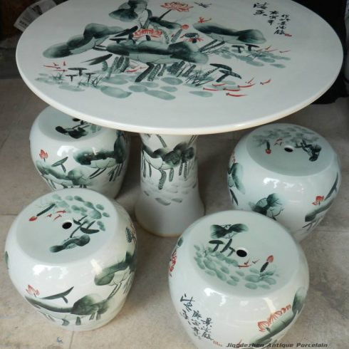 RYAY21_chinese ceramic garden table set