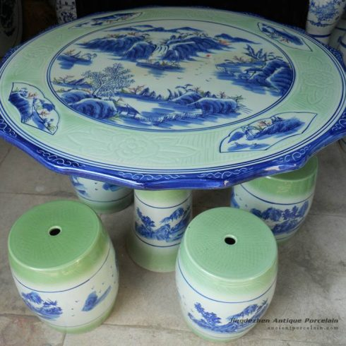 RYAY27_Ceramic Garden Table set