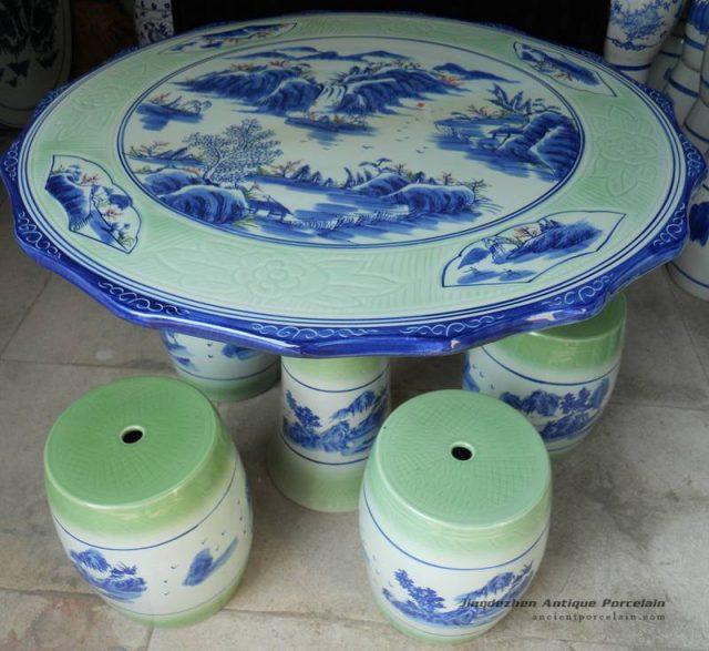RYAY27_Ceramic Garden Table set