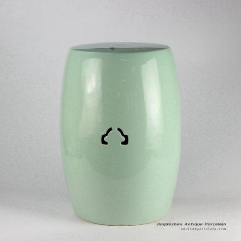 RYIR115_turquoise ceramic garden stool