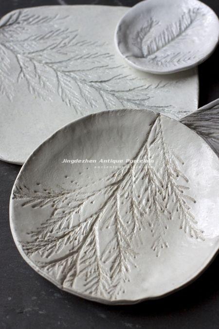 Stamping Art in Ceramics