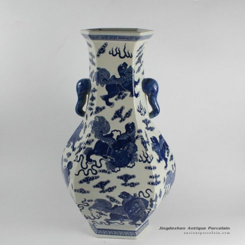 RYJF22_Chinese Blue White Vases