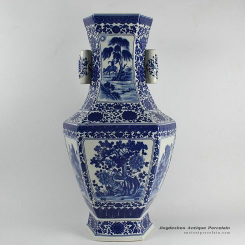 RYJF23_Chinese Blue White Vases