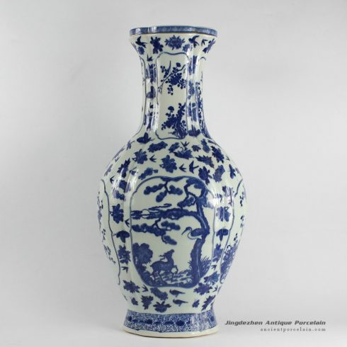 RYJF26_Chinese Blue White Vases