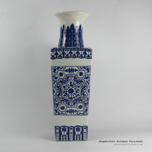 RYJF27_Chinese Blue White Vases