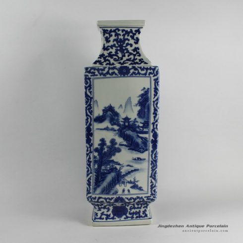 RYJF28_Chinese Blue White Vases