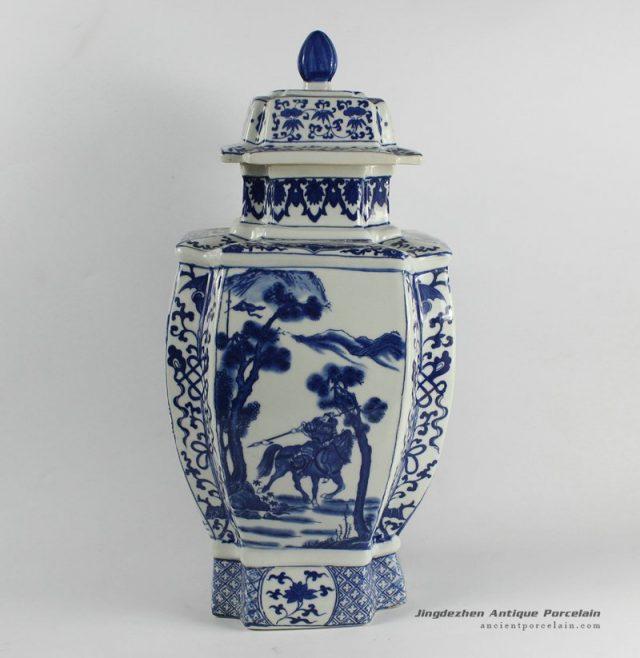 RYJF31_Chinese Blue White Asian Vases