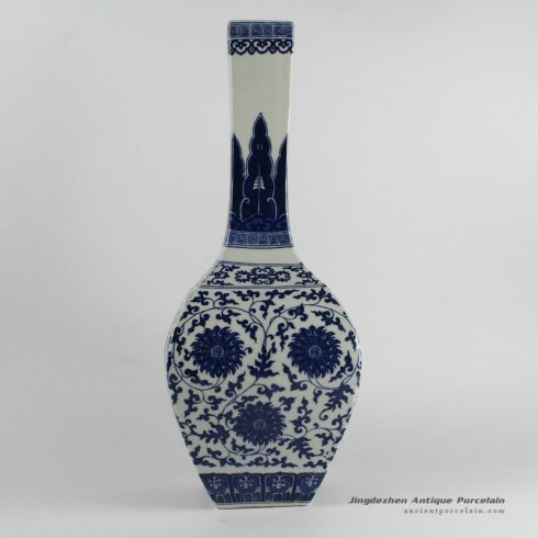RYJF37_Chinese Blue White Asian Vases