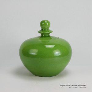 RYKB124_Ceramic Plain glazed Jars