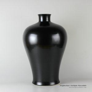 RYNQ171_20″ Black ceramic vases