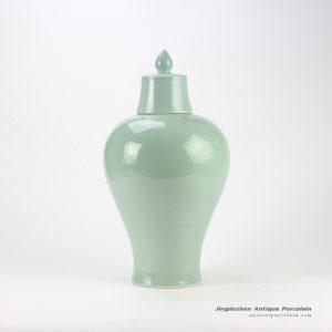 RYNQ178-F_celadon ceramic temple jar