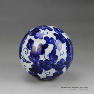 RYPU23_Blue and White Cearmic Ball