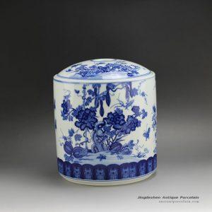 RYSN17_Blue and White Melon Tea Jar