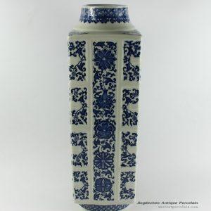 RYTM41_h19.5″ wholesale blue and white flower ceramic vase