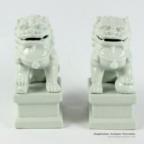 RYXP02_H6″ wholesale Pair of foo dog Book End