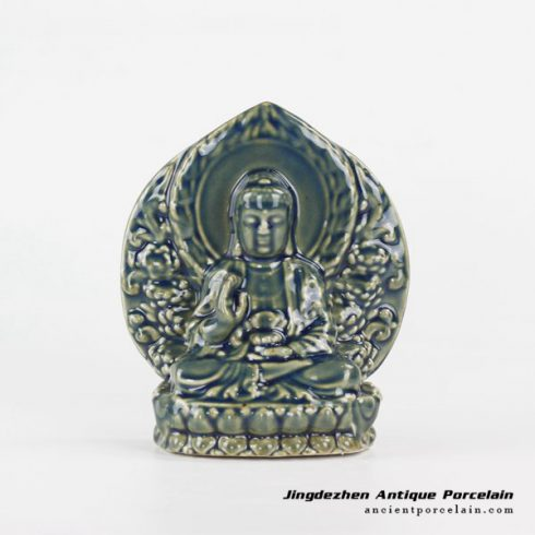RYXP36_Thousand-Hand pottery sculpture Kwan-yin