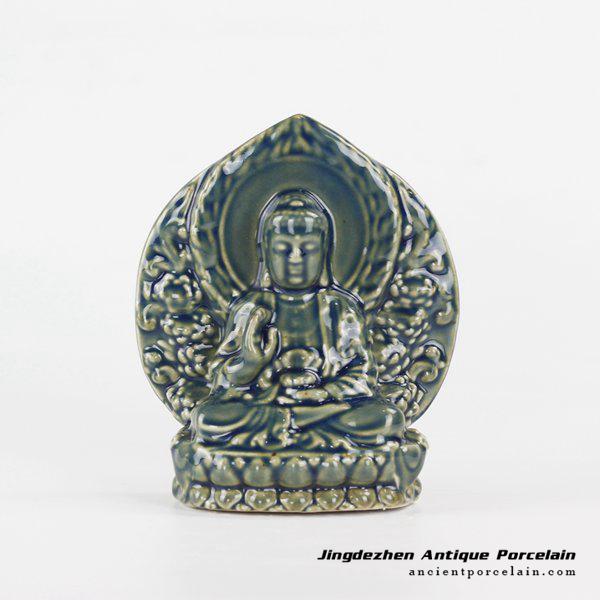 RYXP36_Thousand-Hand pottery sculpture Kwan-yin