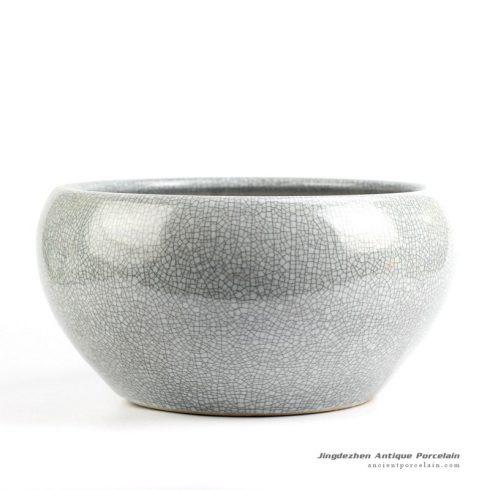 RYYB13_Ge kiln crackle glazed antique style ceramic fish bowl