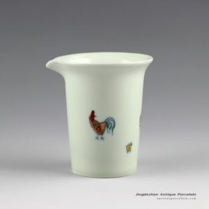 RYYM09_Hand painted Jingdezhen porcelain tea fair cups
