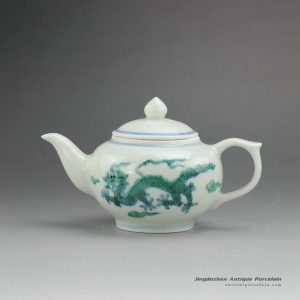 RYYM12_Chinses traditional hand painted dragon pattern teapot