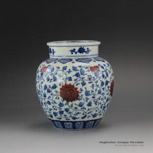 RYZ162_Jingdezhen Handmade Blue and White Tea ware