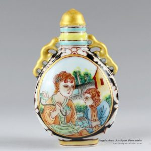 RZCH04_Hand painted Ceramic Snuff Bottle