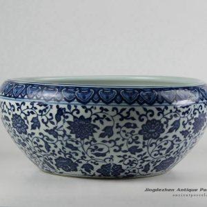 RZFU12-D_Factory outlet cheap price ceramic floral water pot