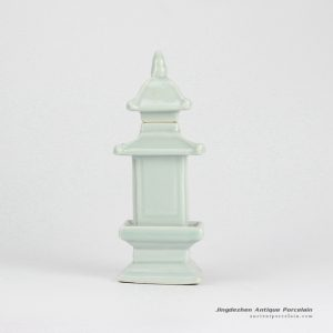 RZGE01-D_plain color made in China ceramic pagoda