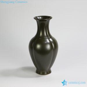 RYPM42 Garden outdoor furniture decoration Green ceramic flower vase