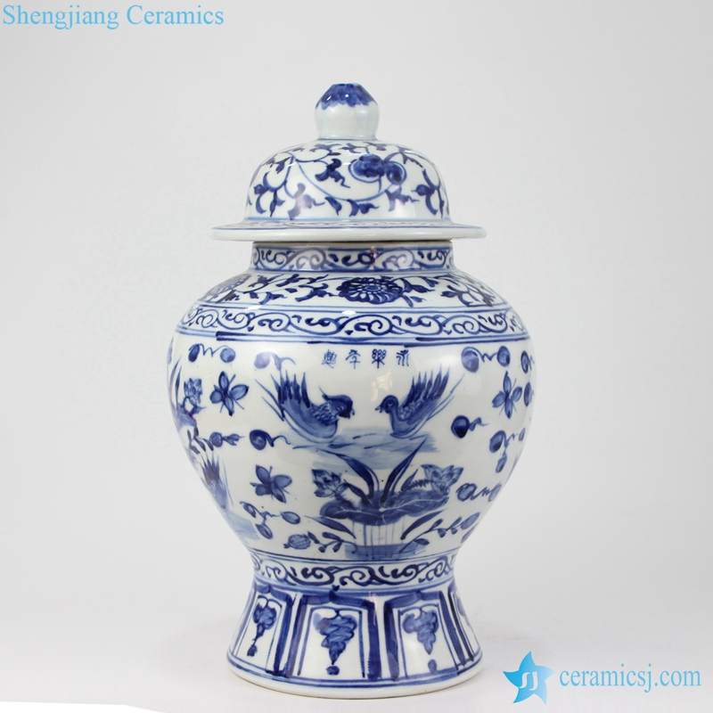 Ds109 Ryuv23 Ming Dynasty China Blue
