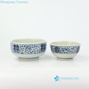 double happniess ceramic bowl
