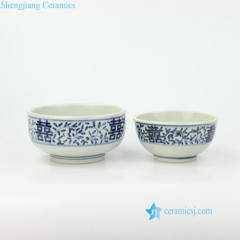 double happniess ceramic bowl