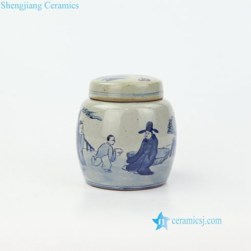 ceramic mini jar