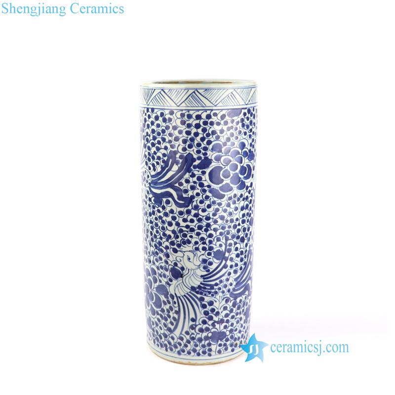 phoenix ceramic umbrella stand