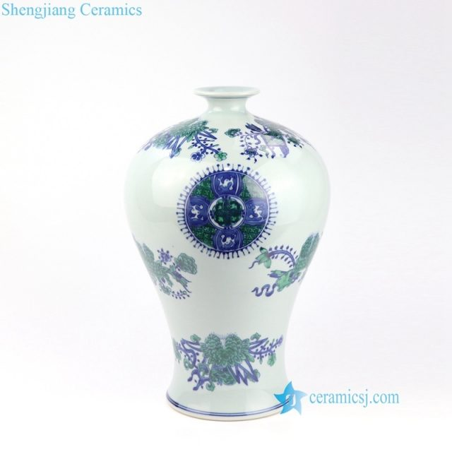 ceramic vase with small mouth