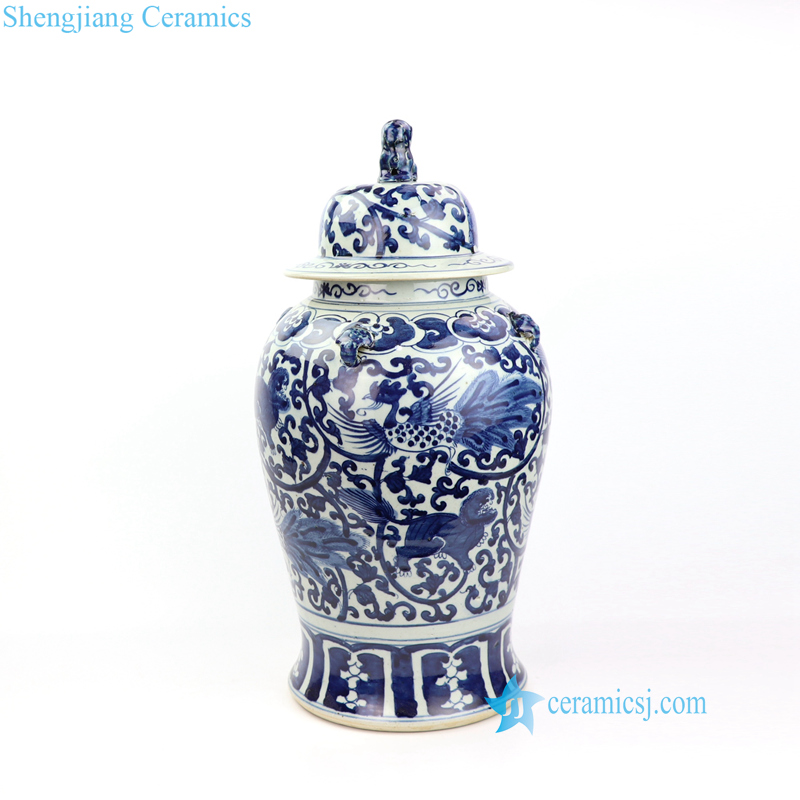 phoenix kylin ceramic jar