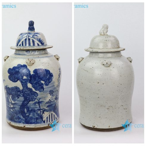 china ancient style porcelain jar