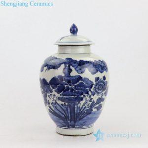 China's exquisite landscape design porcelain jar