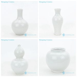 High quality plain color vases
